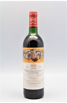Mouton Rothschild 1987 -10% DISCOUNT !