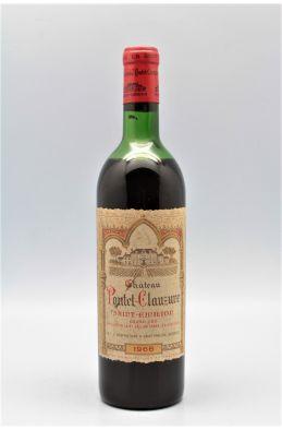 Pontet Clauzure 1966 -15% DISCOUNT !