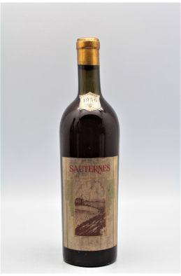 Sauternes 1936