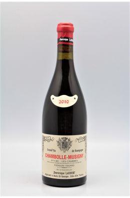 Dominique Laurent Chambolle Musigny 1er cru Les Charmes Vieilles Vignes 2010
