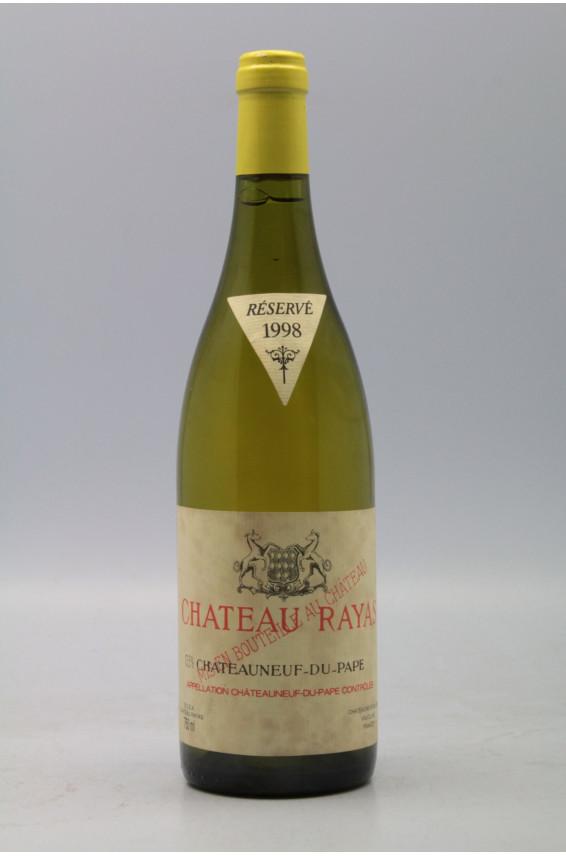 Rayas 1998 blanc