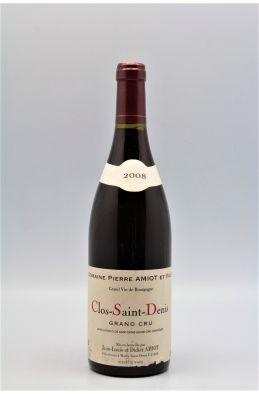 Pierre Amiot Clos Saint Denis 2008