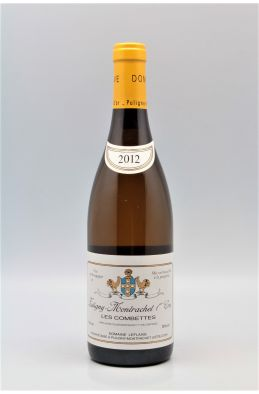 Domaine Leflaive Puligny Montrachet 1er cru Combettes 2012