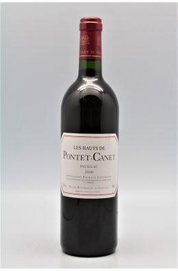 Les Hauts de Pontet Canet 2000