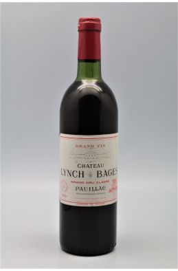 Lynch Bages 1979