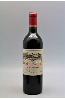 Calon Ségur 2002