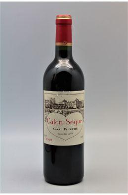 Calon Ségur 2002 - PROMO -5% !
