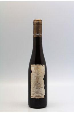 Chapoutier Ermitage Vin de Paille 1990 37,5cl