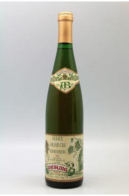 Albert Boxler Alsace grand cru Riesling Sommerberg 1990