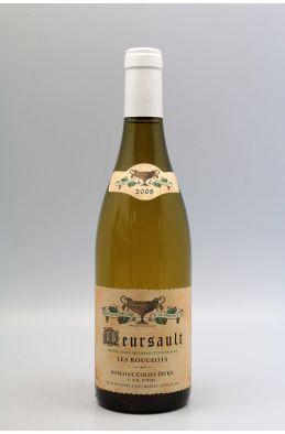 Coche Dury Meursault Rougeots 2008