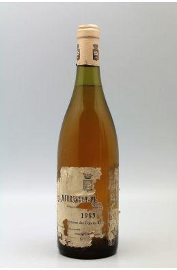 Comtes Lafon Meursault 1er cru Perrières 1985 - PROMO -20% !