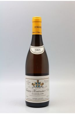 Domaine Leflaive Puligny Montrachet 1er cru Clavoillons 2005
