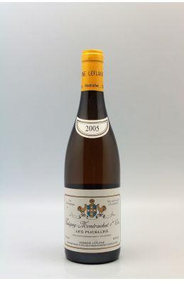 Domaine Leflaive Puligny Montrachet 1er cru Les Pucelles 2005