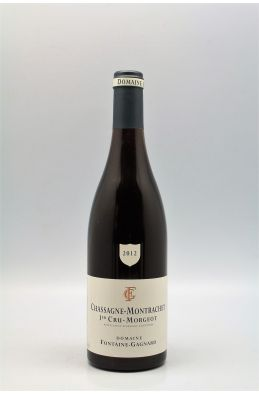 Fontaine Gagnard Chassagne Montrachet 1er cru Morgeot 2012 rouge