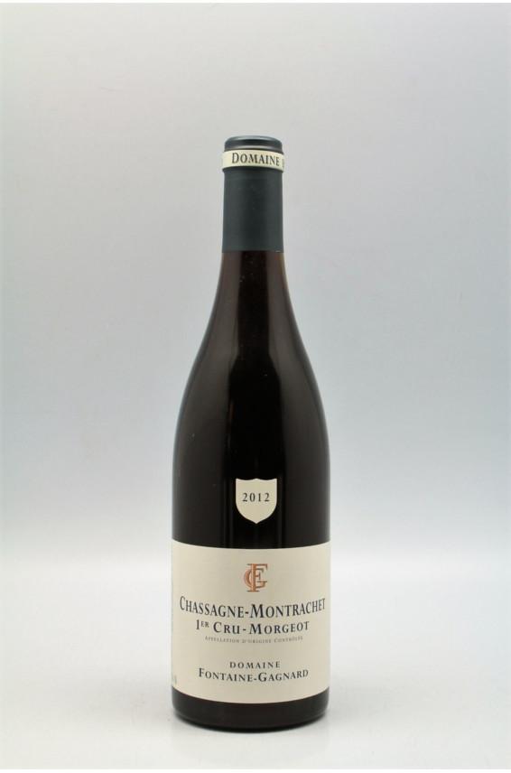 Fontaine Gagnard Chassagne Montrachet 1er cru Morgeot 2012 rouge