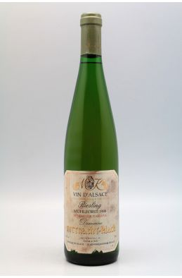 Mittnacht Klack Alsace Riesling Muhlforst Vendanges Tardives 1988