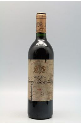 Haut Batailley 1989 -10% DISCOUNT !