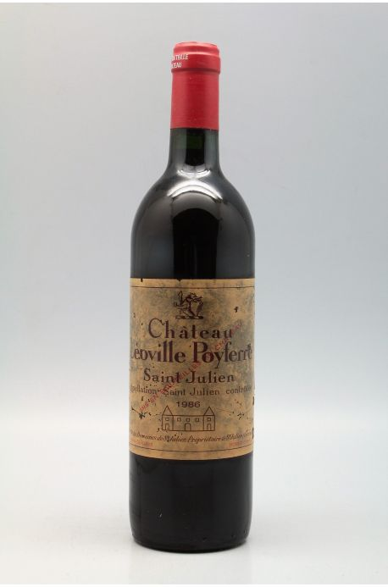 Léoville Poyferré 1986 - PROMO -10% !