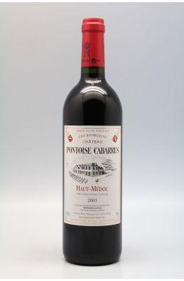 Pontoise Cabarrus 2003