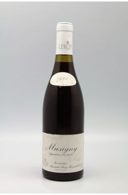 Domaine Leroy Musigny 1985