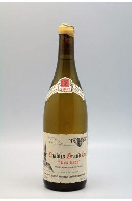 Vincent Dauvissat Chablis Grand cru Les Clos 2007