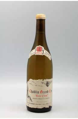 Vincent Dauvissat Chablis Grand cru Les Clos 2012 -5% DISCOUNT !