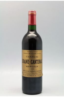Brane Cantenac 1992