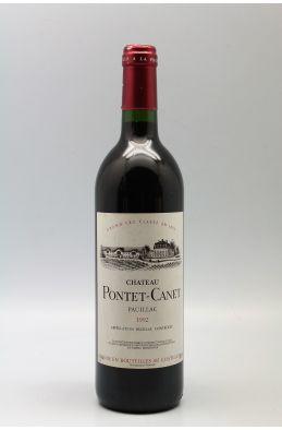 Pontet Canet 1992