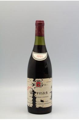 Alain Voge Cornas Vieilles Vignes 1991 -5% DISCOUNT !