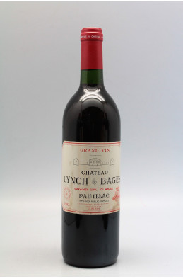 Lynch Bages 1992 -5% DISCOUNT !