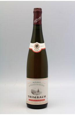 Trimbach Alsace Gewurztraminer Sélection de Grains Nobles 1989