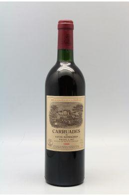 Carruades de Lafite 1988