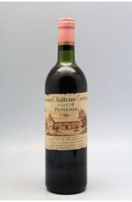 Vieux Château Certan 1981 -10% DISCOUNT!