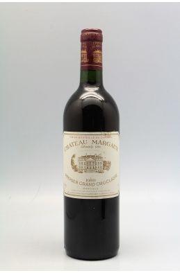 Château Margaux 1989 - PROMO -5% !
