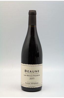 Pierre Boisson Beaune Beaux Fougets 2011 rouge