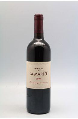 La Marfée Côteaux du Languedoc Les Champs Murmurés 2005