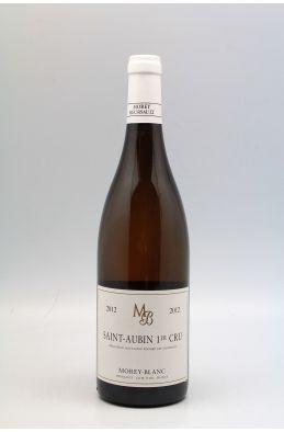 Morey Blanc Saint Aubin 1er cru 2012