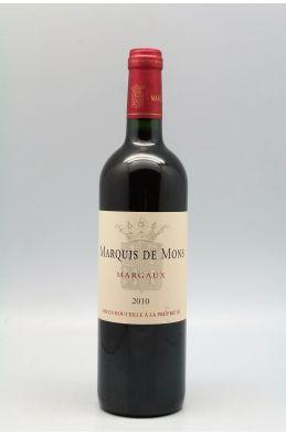 Marquis de Mons 2010