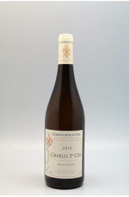 Christophe & Fils Chablis 1er cru Mont de Milieu 2014