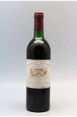 Château Margaux 1981 - PROMO -5% !