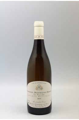 Henri Germain Chassagne Montrachet 1er cru Morgeot 2014