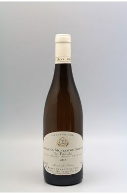 Henri Germain Chassagne Montrachet 1er cru Morgeot 2013