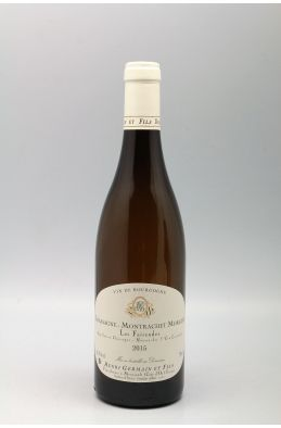 Henri Germain Chassagne Montrachet 1er cru Morgeot 2015