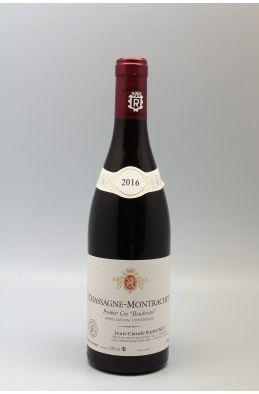 Ramonet Chassagne Montrachet 1er cru Boudriotte 2016 Rouge