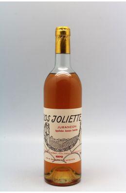 Clos Joliette Jurançon 1979 -10% DISCOUNT !