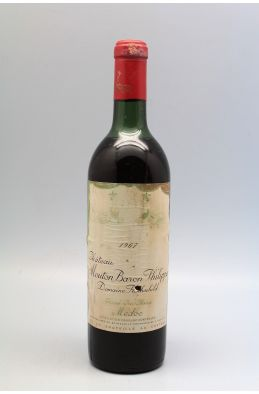Mouton Baron Philippe de Rothschild 1967 -15% DISCOUNT !