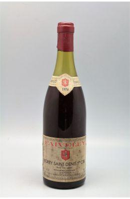 Faiveley Morey Saint Denis 1er cru Clos des Ormes 1976 -10% DISCOUNT !
