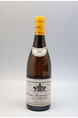 Domaine Leflaive Puligny Montrachet 1er cru Les Combettes 2005