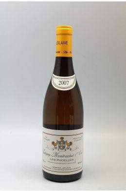 Domaine Leflaive Puligny Montrachet 1er cru Les Pucelles 2007