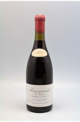 Domaine Leroy Pommard Les Vignots 2001